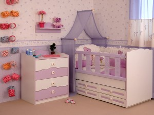 baby zimmer m dchen. Black Bedroom Furniture Sets. Home Design Ideas